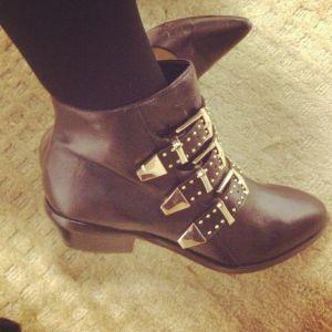 ShoeMint Francoise Booties