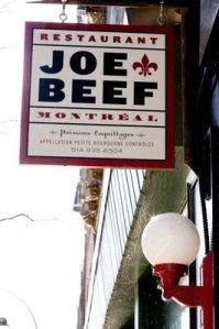 Joe Beef, Montreal